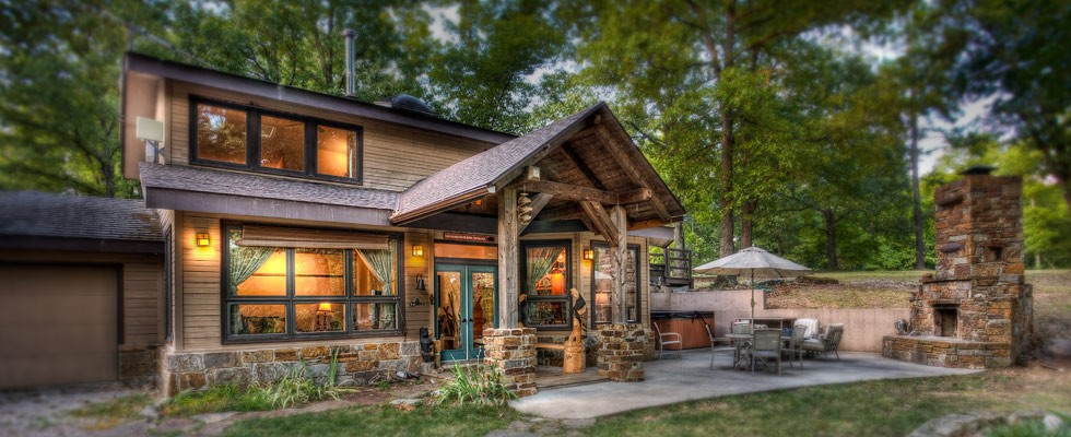 cabins vacation romantic luxurious springs in lake arkansas spectacular eureka beaver lakefront cottages secluded overlooking